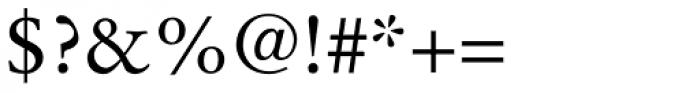 Stempel Garamond Roman Font OTHER CHARS