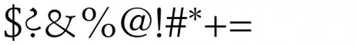 Stempel Schneidler Roman Font OTHER CHARS