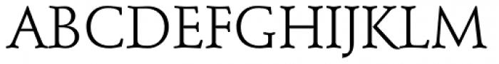 Stempel Schneidler Roman Font UPPERCASE