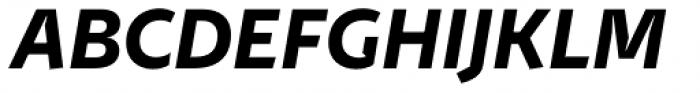 Stena Bold Italic Font UPPERCASE