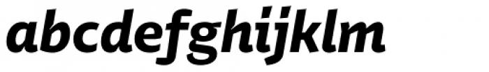 Stena Bold Italic Font LOWERCASE