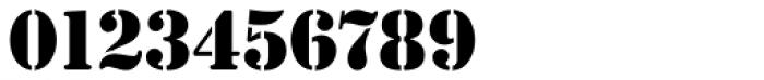 Stencil Antiqua EF Font OTHER CHARS
