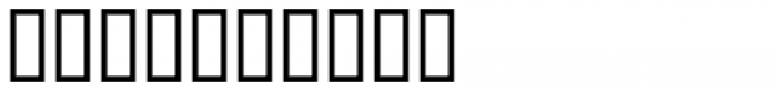 Stencil Decor JNL Regular Font OTHER CHARS