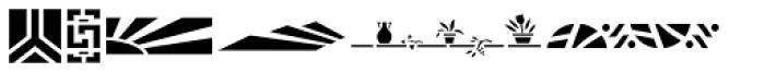 Stencil Decor JNL Regular Font UPPERCASE