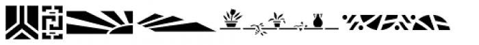 Stencil Decor JNL Regular Font LOWERCASE