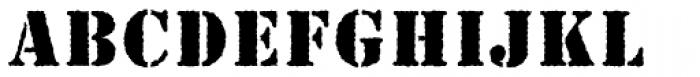 Stencil MN Antique Font LOWERCASE