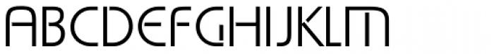 Stencille Une Font UPPERCASE