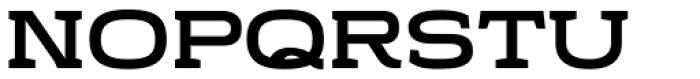 Stendo 800 Bold Font LOWERCASE