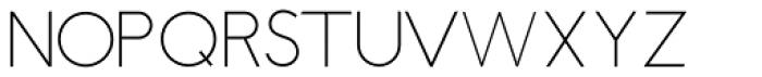 Stengel Font UPPERCASE