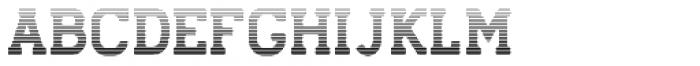 Stengkol 12 Font UPPERCASE