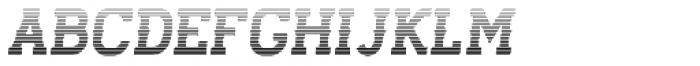 Stengkol 18 Font UPPERCASE