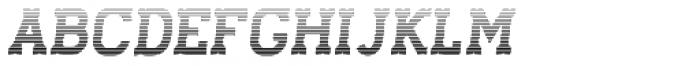 Stengkol 19 Font UPPERCASE