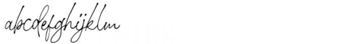 Stephen Gillion Regular Font LOWERCASE