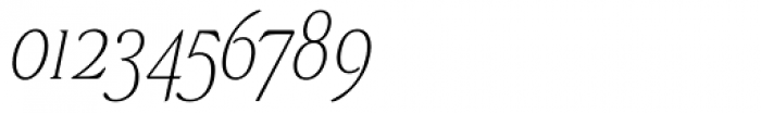 Stepp Light Italic Font OTHER CHARS