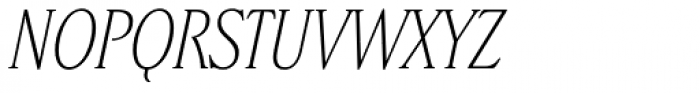 Stepp Light Italic Font UPPERCASE