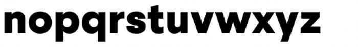 Steradian Black Font LOWERCASE