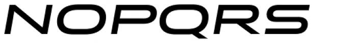 Stereo Gothic 650 Italic Font UPPERCASE