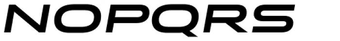Stereo Gothic 750 Italic Font UPPERCASE