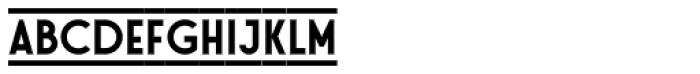 Stereonic M Doubleline Font LOWERCASE