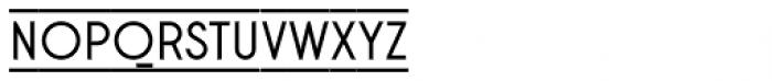 Stereonic S Doubleline Font UPPERCASE