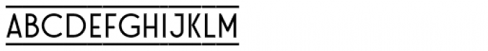 Stereonic S Doubleline Font LOWERCASE