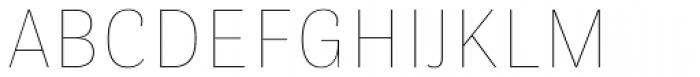 Stereotesque ExtraLight Font UPPERCASE