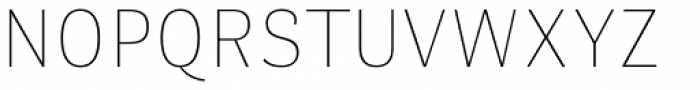 Stereotesque Thin Font UPPERCASE