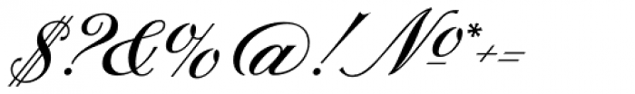 Sterling Script Font OTHER CHARS