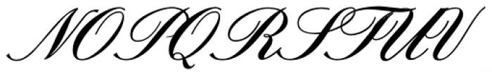 Sterling Script Font UPPERCASE
