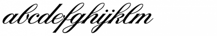 Sterling Script Font LOWERCASE