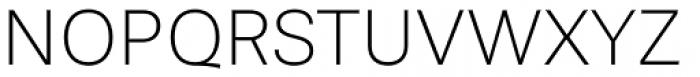 Stevie Sans Thin Font UPPERCASE