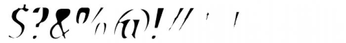 Stick26 Light Oblique Font OTHER CHARS