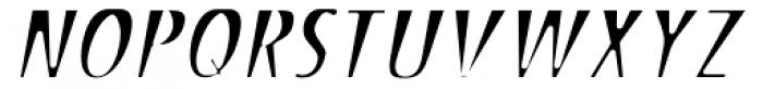 Stick26 Light Oblique Font UPPERCASE