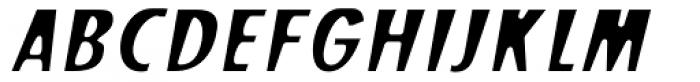 Stick26 Oblique Font UPPERCASE
