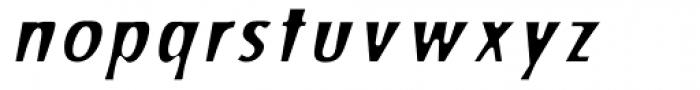 Stick26 Oblique Font LOWERCASE