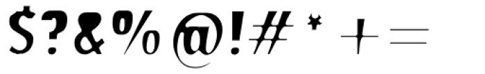 Stick26 Regular Font OTHER CHARS