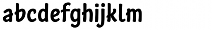 Stickout Font LOWERCASE
