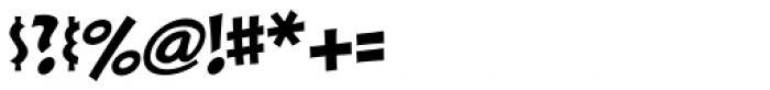 Sticks Font OTHER CHARS
