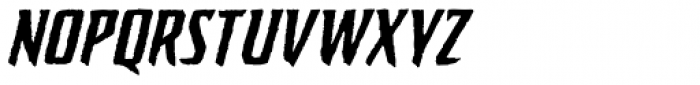 Sticky Fingers Italic Font LOWERCASE