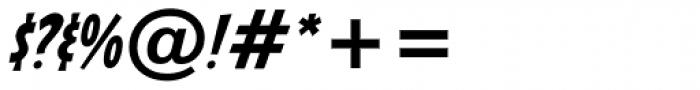 Sticky Moula BTN Oblique Font OTHER CHARS