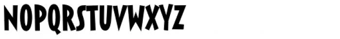 Sticky Moula BTN Font UPPERCASE