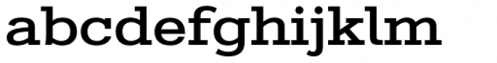 Stint Expanded Pro Medium Font LOWERCASE