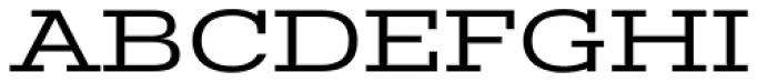 Stint Ultra Expanded Pro Font UPPERCASE