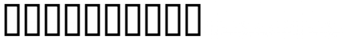 Stock Signs JNL Font OTHER CHARS