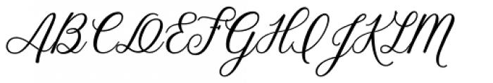 Stoic Regular Font UPPERCASE
