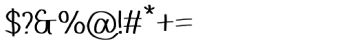 Stola Regular Font OTHER CHARS