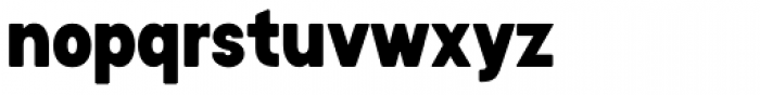 Stomp Black Font LOWERCASE