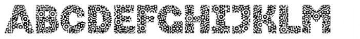 Stomp Circles Font UPPERCASE