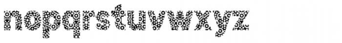 Stomp Circles Font LOWERCASE