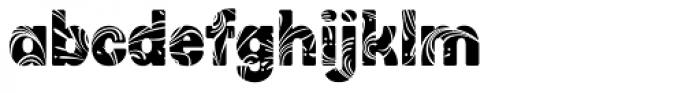 Stomp Swirl Font LOWERCASE